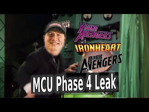 CRAZY MCU Phase 4 Leaks! Dark Avengers & Ironheart CONFIRMED?