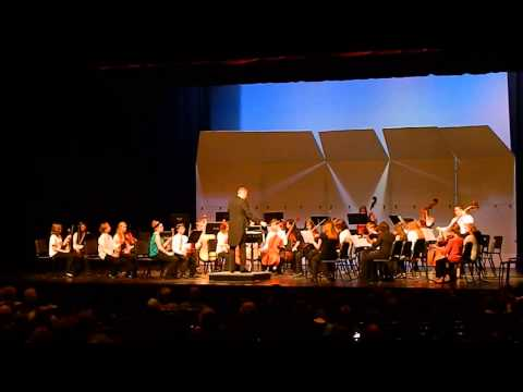 Wilson and John Deere Middle Schools Combined Orchestra