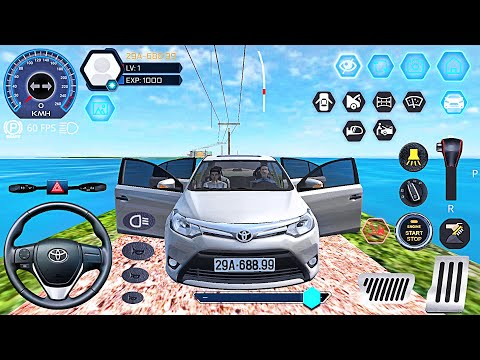 Car Simulator Vietnam - Realistic Сar Toyota Long City Drive - Best Android GamePlay #3