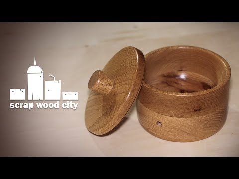 How to make a yarn bowl out of oak