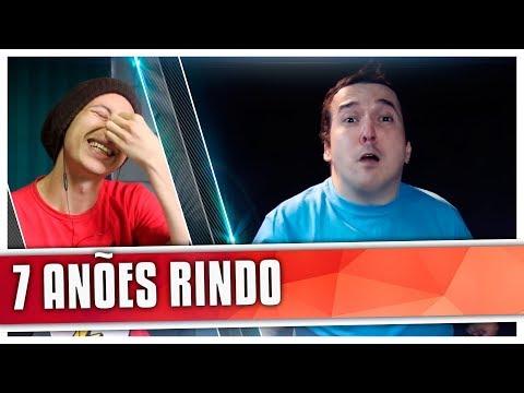 REACT NÃO PODE RIR! - com 7 ANÕES (Castro Brothers)
