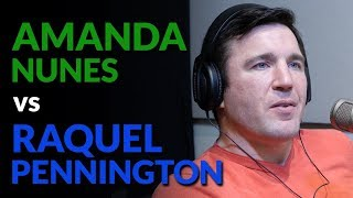Chael Sonnen talks Amanda Nunes vs Raquel Pennington