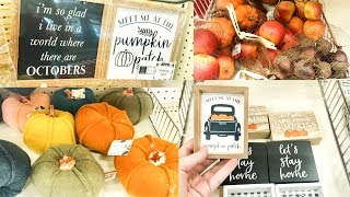 TARGET DOLLAR SPOT FALL & HALLOWEEN DECOR 2019 // FALL SHOP WITH ME AND HAUL // Jessica Giffin