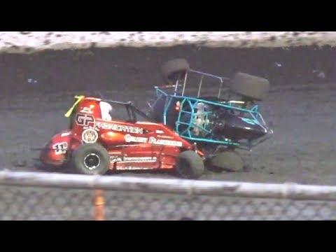 600 Micro Sprint MAIN 6-14-19 Petaluma Speedway