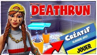 🔴 [FORTNITE Fr DEATHRUN] JE RAGE ON MAPS FACTS BY MES ABOS [2000 Vbucks to win]