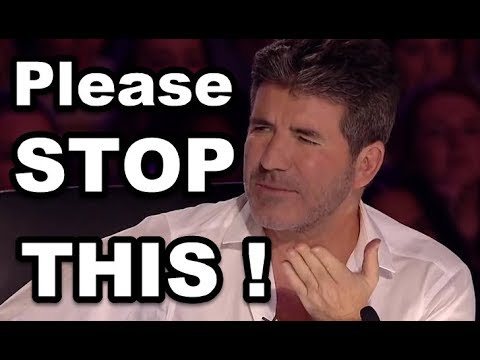 SIMON COWELL STOPS THEM and Gives SECOND CHANCE! TOP Simon's