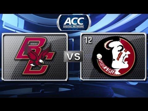 Boston College vs Florida State Highlights - 2012