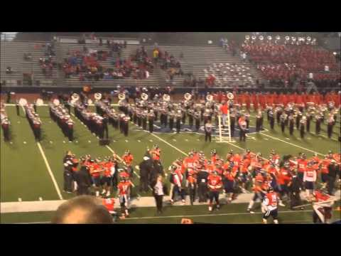 McKinney Boyd High School Band: Football Game 8 10/23/15 Pregame Show VS Marcus