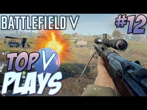 Battlefield 5 Top 10 Plays #12 (BFV Multiplayer Gameplay Montage) thumbnail