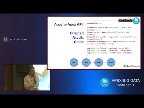 Machine Learning Using SAMOA (Lightning Talks) @ Apex Big Data World 2017, Pune