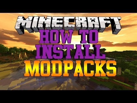 Minecraft How To Install Mod Packs Fast Easy