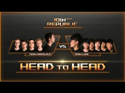 Join The Republic - Day 3 - Semi Finals - Team Nordics vs Team Taiwan - Game 1 | ROG