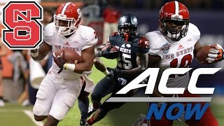 Nc state football sets program record with 7 rushing td's vs. south alabama