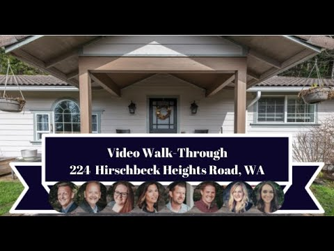224 Hirschbeck Heights Road | Central Park, WA | Video Walk-Through