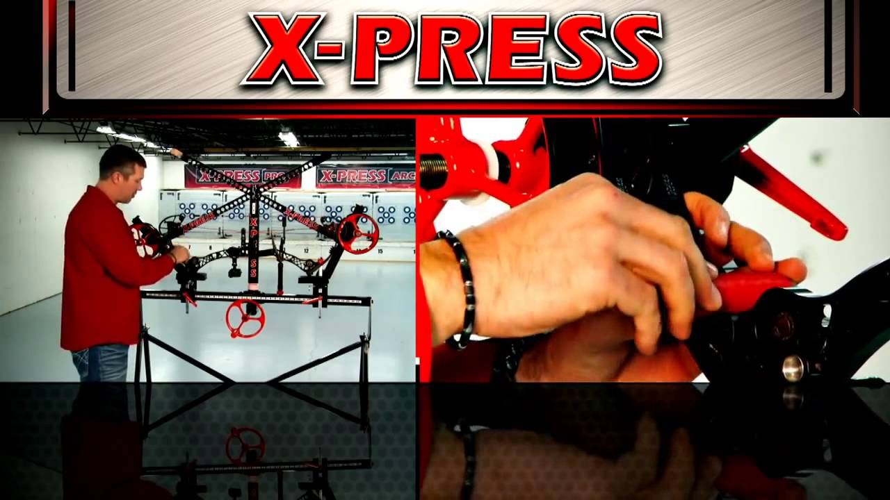 How to Press a Mathews bow with the X-PRESS bow press