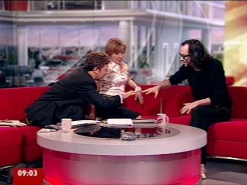 James Rhodes on BBC Breakfast