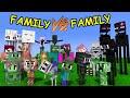 FAMILY VS FAMILY - WHO IS THE BEST ( BUILD BATTLE ) - MONSTER SCHOOL