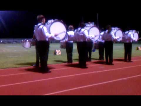 Pleasanton high school drumline
