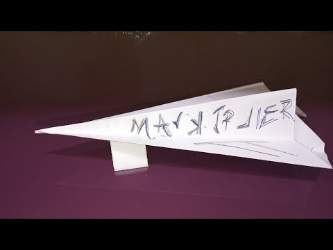 Diy tricks How to make a paper airplane , Best paper Planes that fly far