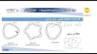 الثالث الثانوي | الفصل الدراسي الثاني | فيزياء | النموذج الكمي للذرة (السحابة الالكترونية)