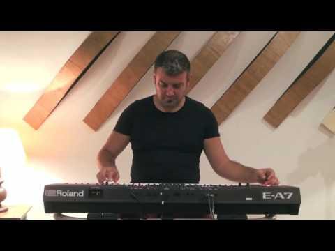 Roland E-A7 / Turkish Sound Preview