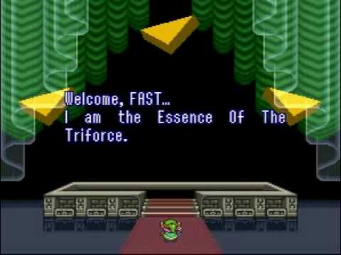 The Legend of Zelda: A Link to the Past - World Record Speed Run - Beaten in 2:42