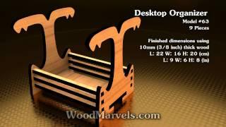 Desktop Organizer: 3d Assembly Animation (1080hd)