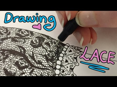 How To Draw Lace Tutorial