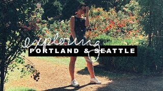 Two Days in Portland & Seattle | travel vlog | Isabel Montes