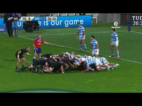 2017 Rugby Championship Rd 3 New Zealand V Argentina