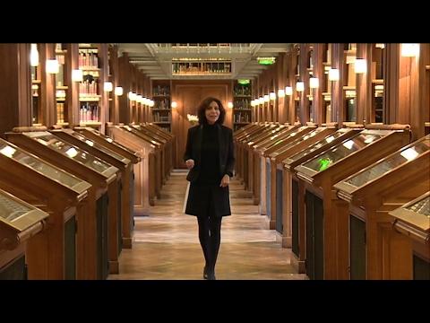Reportage de Cécile Laronce à la Bibliothèque Nationale (France 3)