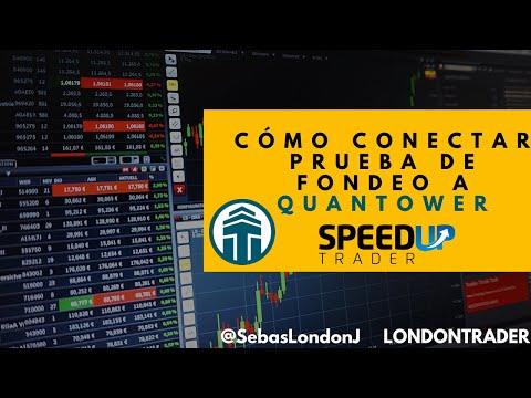 Cómo conectar mi prueba de fondeo a Quantower – Pruebas de fondeo SpeedUp – LondonTrader
