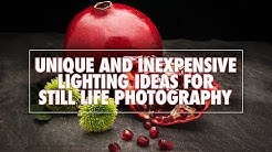Unique and Inexpensive Lighting for Still Life Photography
