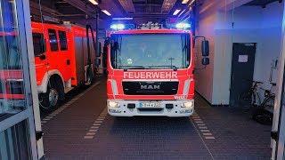 Die Freiwillige Feuerwehr Freiburg rückt aus