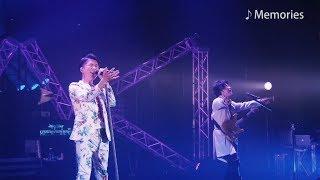 ギタリスト田川伸治の脱退を前に、三人体制でのラストステージとなった...
