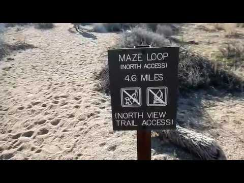 Hiking Joshua Tree National Park Maze Loop Area YouTube