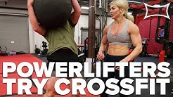Step-Ups & DBOL - Brooke Ence Takes Powerlifters Through Crossfit Workout