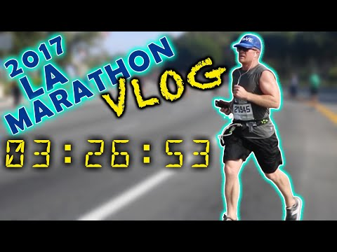 2017 LA Marathon - I Ran My Goal Time!!!