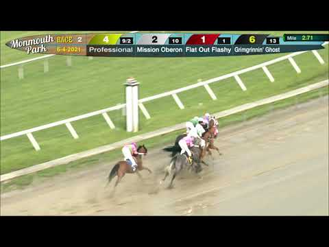 video thumbnail for MONMOUTH PARK 6-4-21 RACE 2