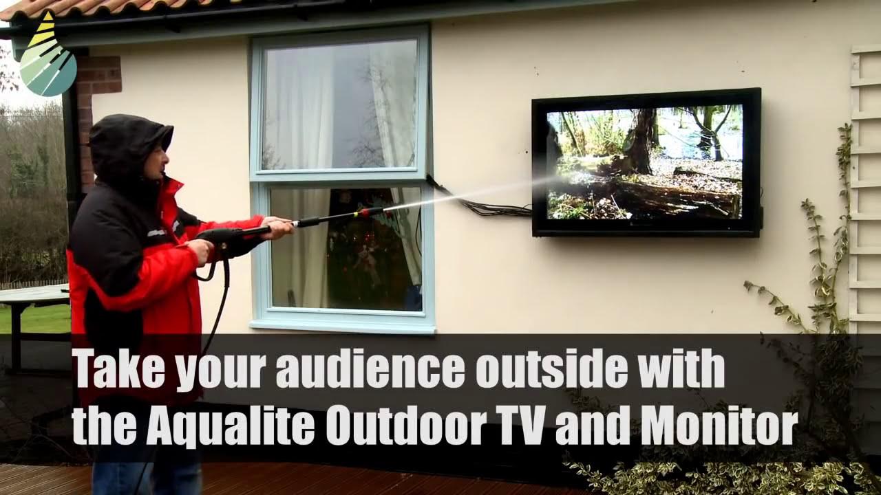 Outdoor TV Screens - Outdoor TV Advertising Display Screens & Monitors