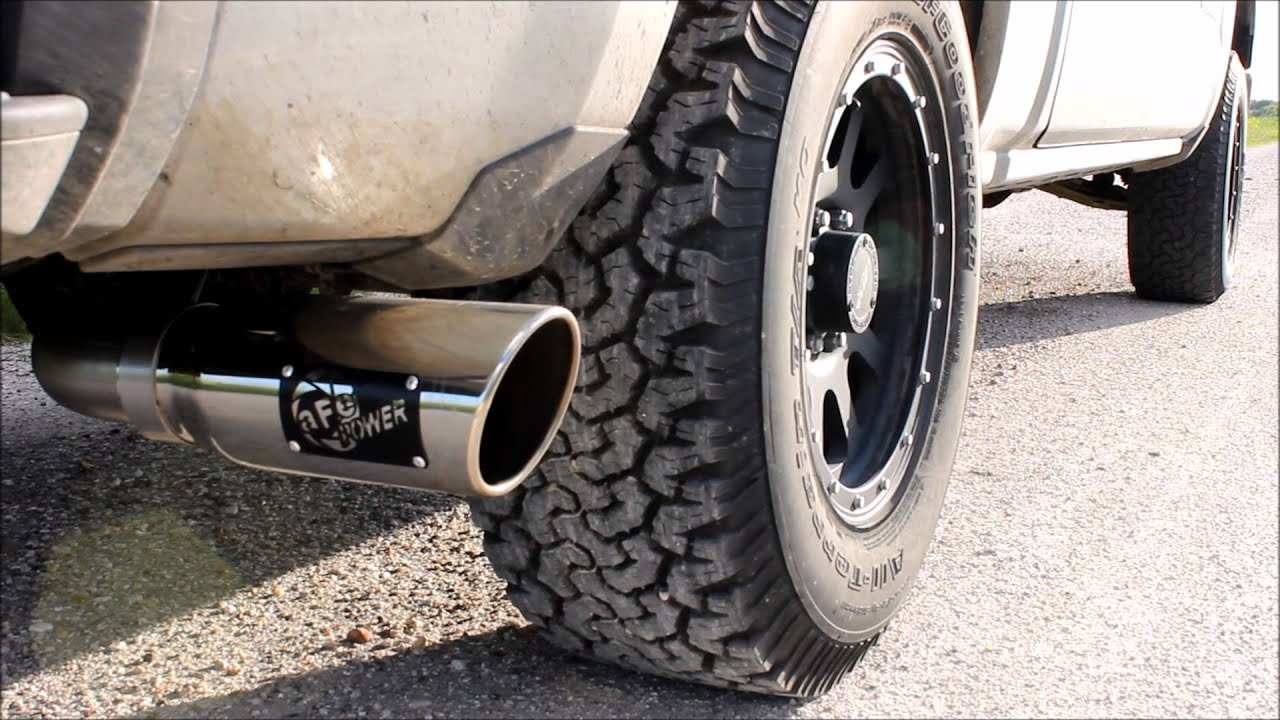 Chevy Silverado  Cat Back Exhaust