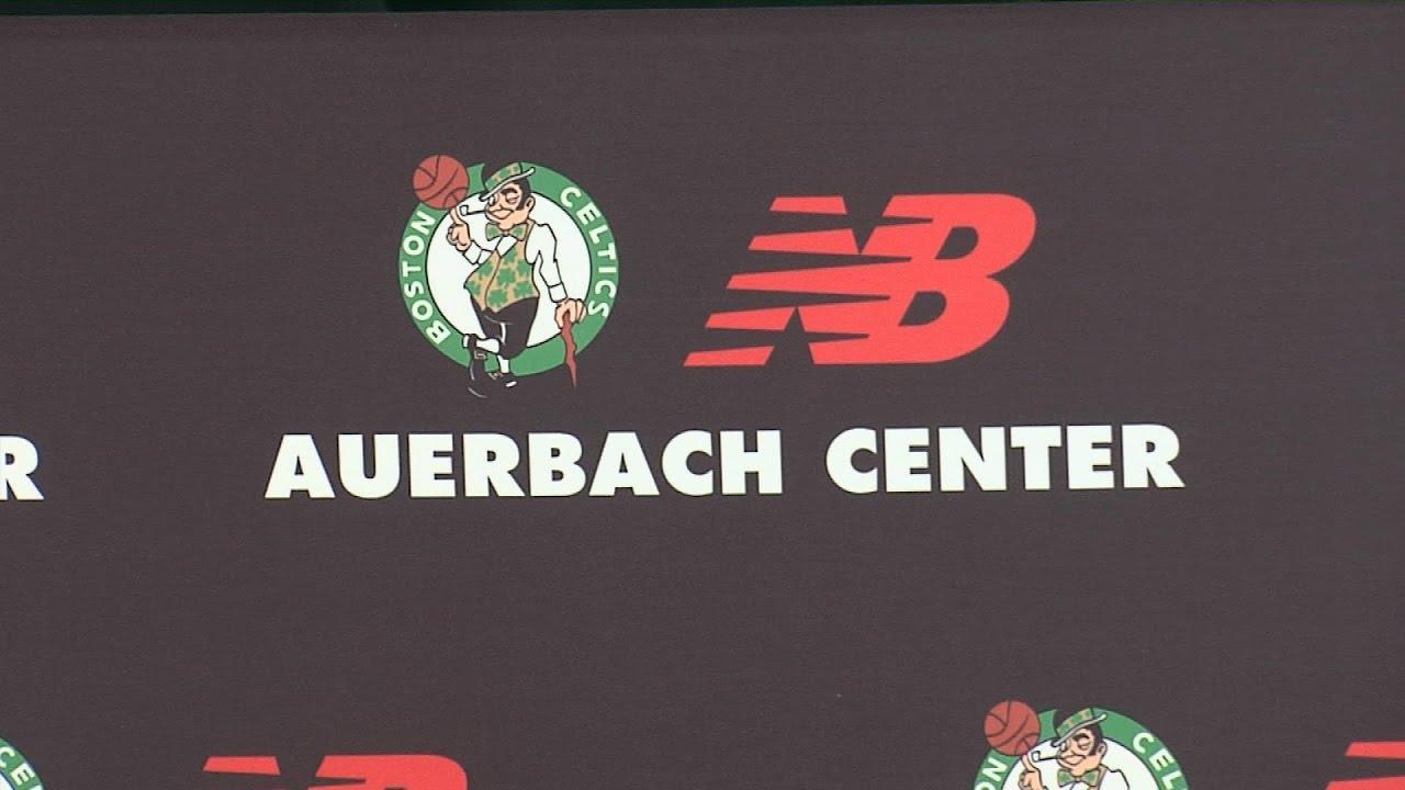 tout neuf 817df 607bb Boston Celtics & New Balance Practice Facility Groundbreaking - Promo
