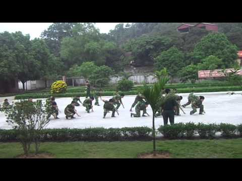 16 động tác võ tay không - Trung đội 3