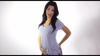 T-Shirt Video Review: Custom Ladies Alternative Apparel Burnout T-Shirt by Coed Monkey