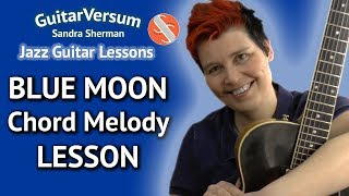 BLUE MOON - Jazz Guitar LESSON…