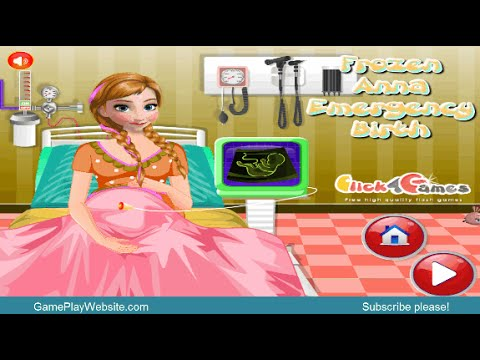 Anna Emergency Birth Online Game - Hospital Doctor Baby Games - Let's Play Together!