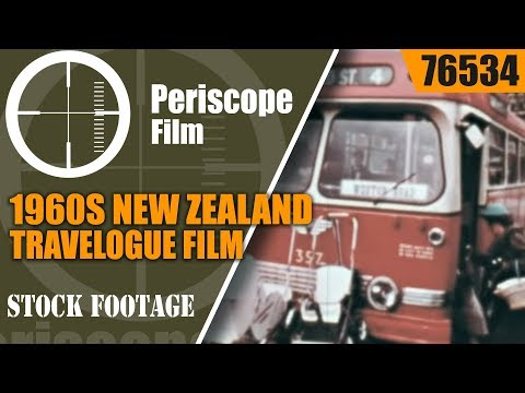 1960s NEW ZEALAND TRAVELOGUE FILM  76534