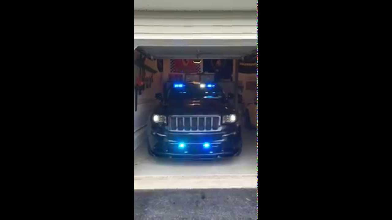 2013 jeep grand cherokee srt8 emergency lights front - 2015 jeep grand cherokee led interior lights ...