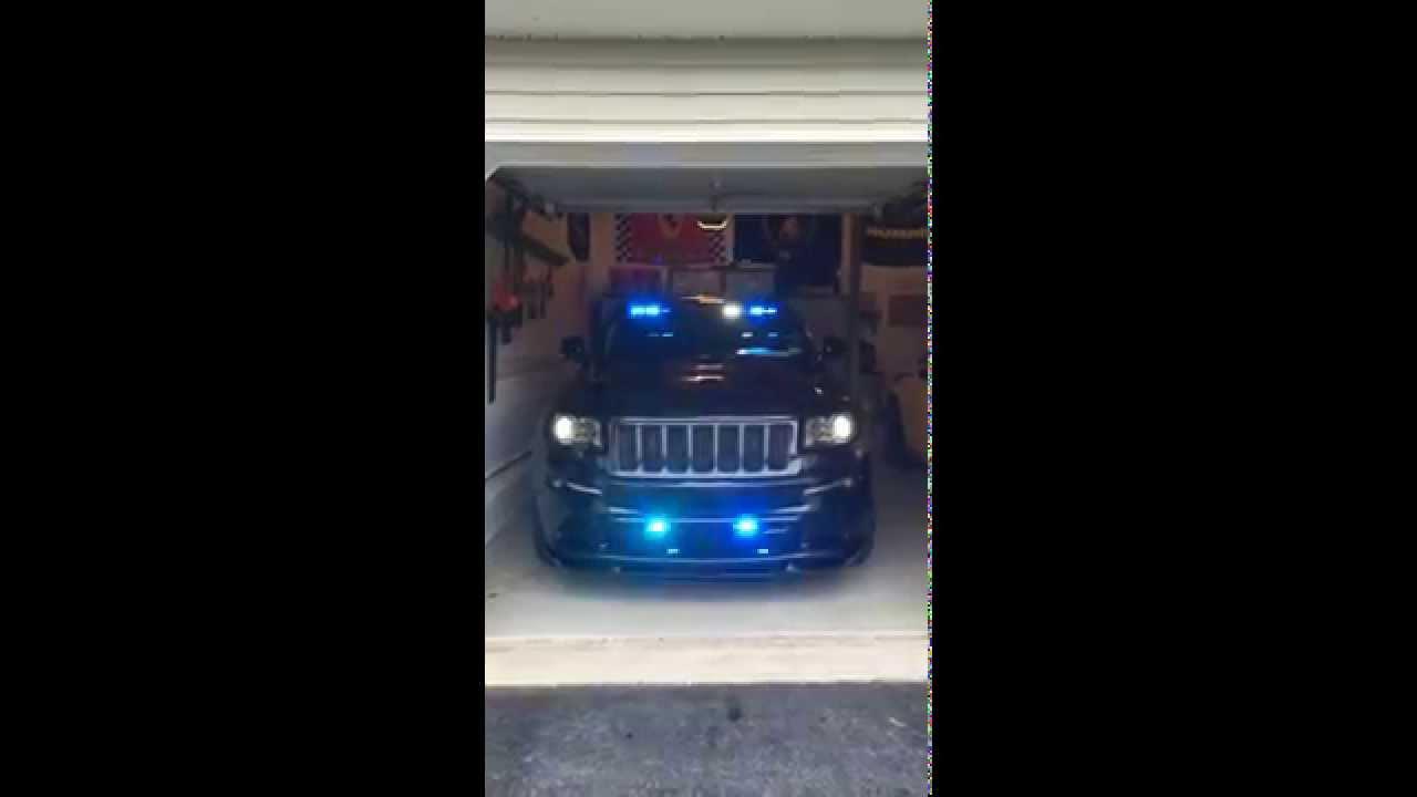 2013 jeep grand cherokee srt8 emergency lights front youtube aloadofball Gallery