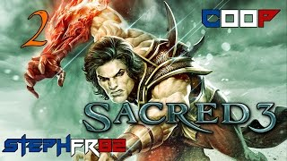 Sacred 3 - Big boss ork - Découverte coop ft. Larasasa 2-2 - FR PC HD